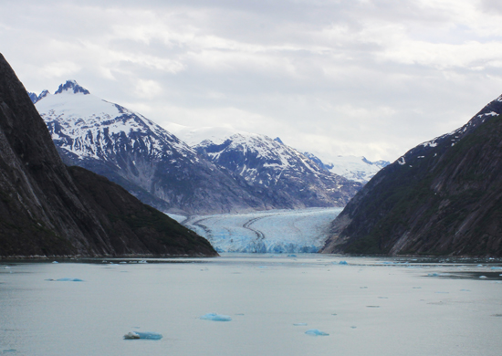 Endicott Arm - Alaska glacier