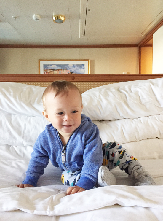Taking a baby on an Alaska cruise