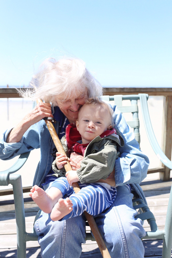 Time with great-grandma