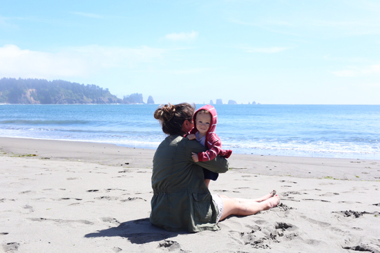 Coasting: Ian's first trip to the ocean