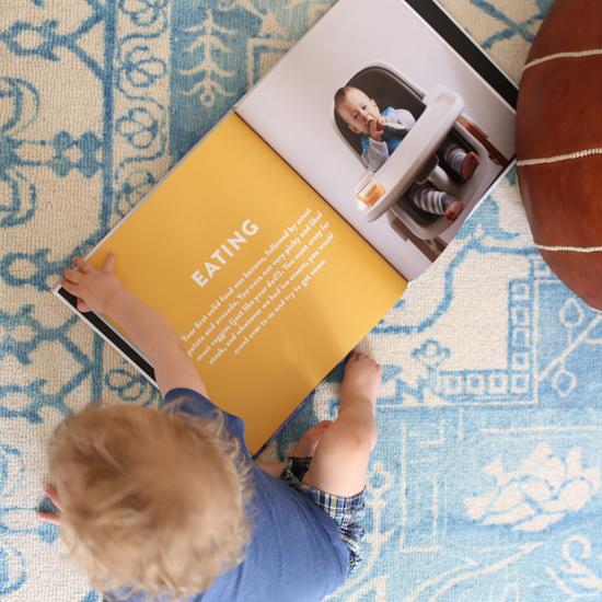 Baby milestones photobook