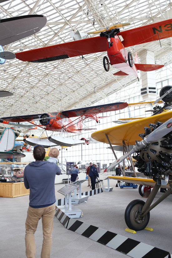 Museum of Flight in Seattle