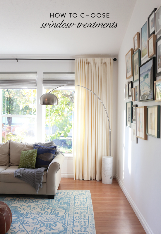 How to Choose Window Treatments for Your Home | At Home In Love