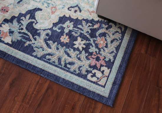 Flat-weave rug from Mohawk Home