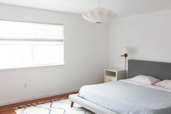 Master bedroom progress & plans