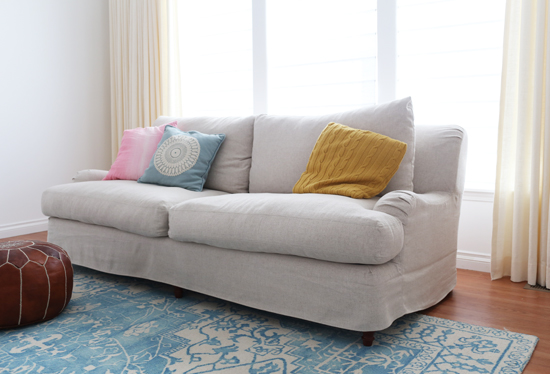 Buying my dream sofa online (without ever sitting in it first)!