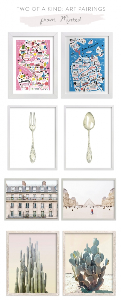 Two of a Kind: Art Pairings from Minted
