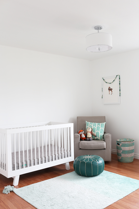 Getting ready for baby number two : the nursery