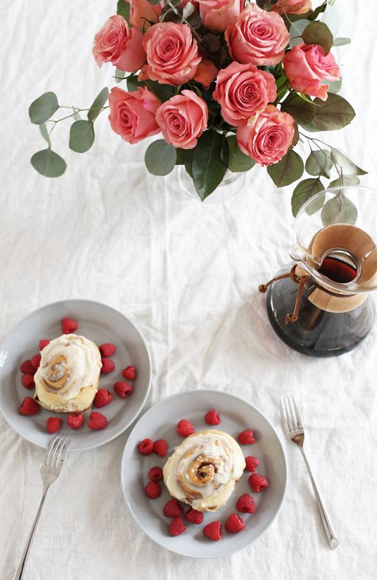 Easy Valentine's day breakfast