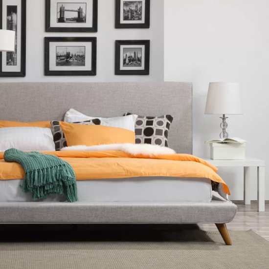 5 budget-friendly upholstered platform beds