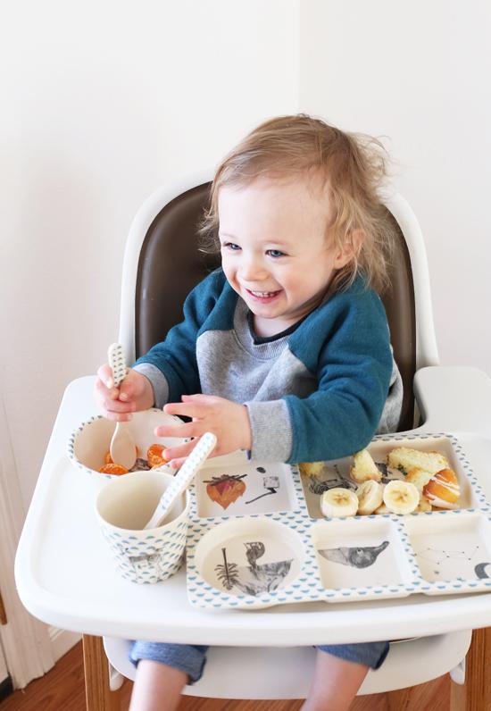 The cutest toddler dinnerware