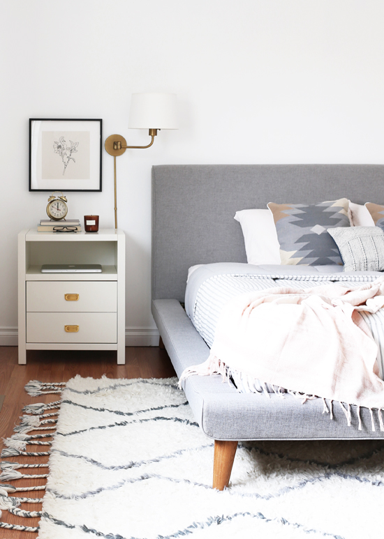 Mod Upholstered Platform Bed