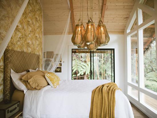 Dreamy treehouse on the island of Hawaii