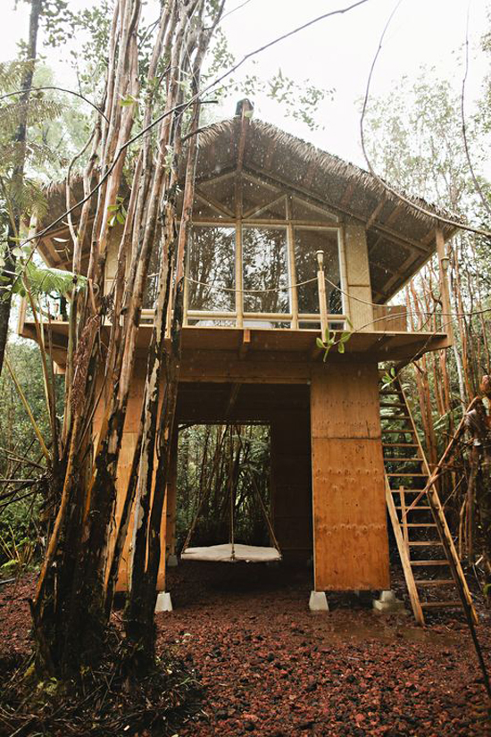 The best vacations rentals in Hawaii: this dreamy treehouse