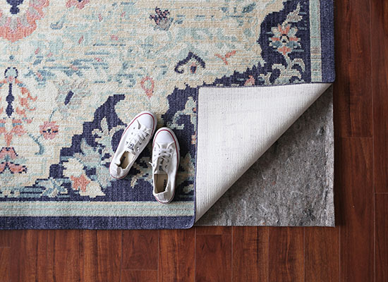 How to choose the right rug pad for your space