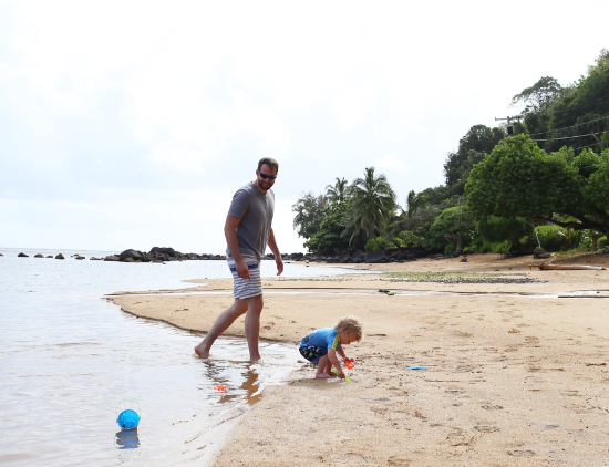 What to do in Kauai with a toddler
