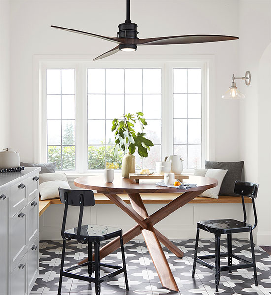 Yay or nay ceiling fan over the dining table at home in love yay or nay ceiling fan over dining table aloadofball Images