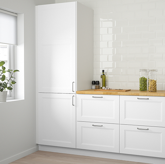 Ikea White Shaker Kitchen Cabinets Two Affordable Options for White Shaker Cabinets | At Home In Love
