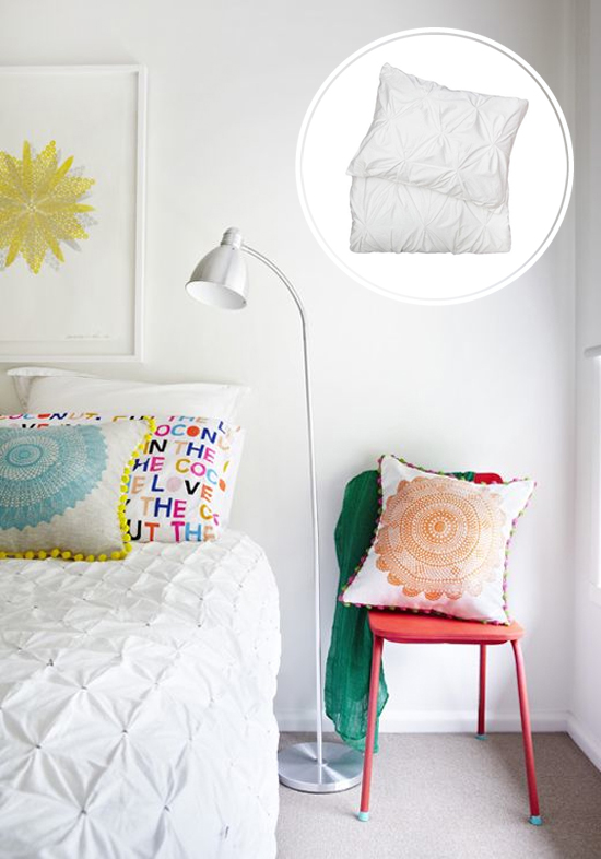 Bedroom Talk: 5 Tips for Choosing Bedding | At Home In Love