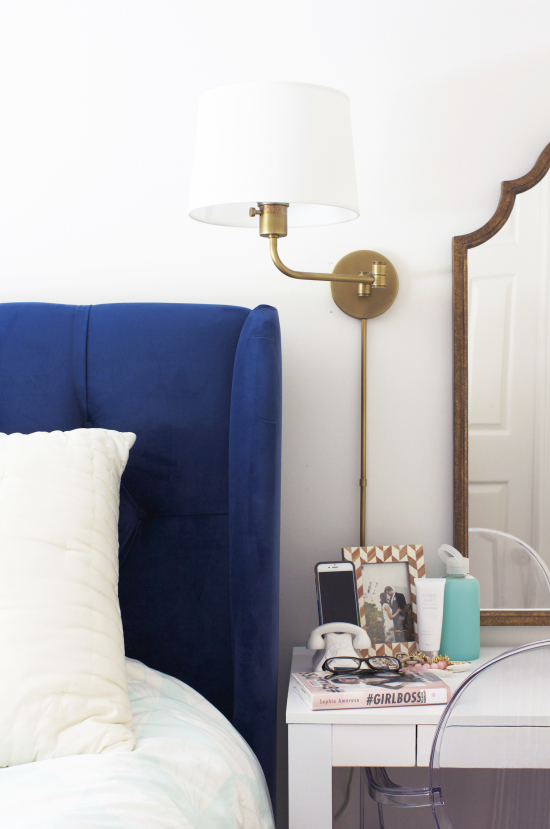 our bedroom sconces at home in love 13766 | ls plus2 550x829